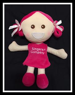 Singers Company Sadie Plush Doll